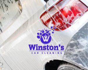De carwash van Winston's Car Cleaning